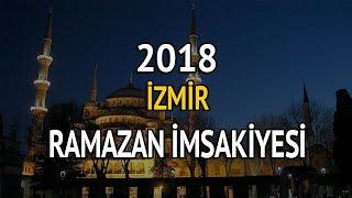 İzmir imsak ve iftar saati kaçta?