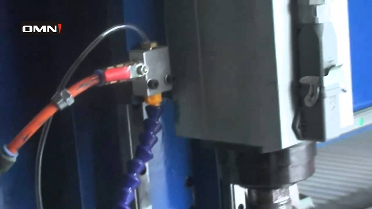 Mist Cooling System : Cnc router with mist cooling system youtube