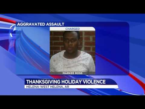 Violent Thanksgiving holiday in Helena-West Helena Arkansas