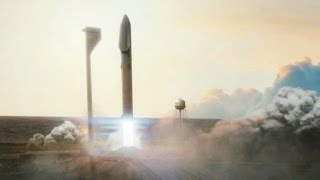 SpaceX unveils plans to colonize Mars