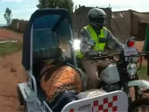 NewsGlobalHealth: SUDAN MOTORCYCLE AMBULANCES