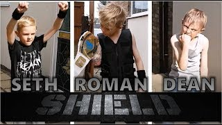 THE SHIELD ENTRANCE 2017 BEST WWE ENTRANCES - COMPLETE SET SETH ROLLINS DEAN AMBROSE ROMAN REIGNS