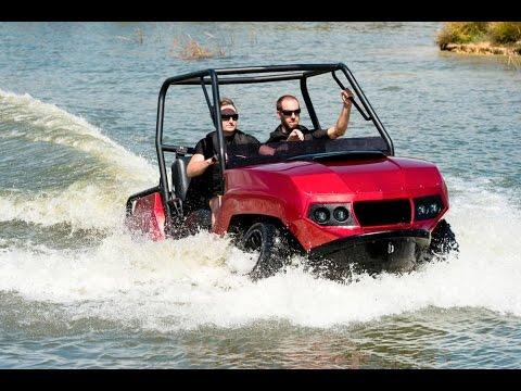 Gibbs Terraquad the amphibious ATV