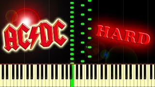 AC/DC - THUNDERSTRUCK - Piano Tutorial