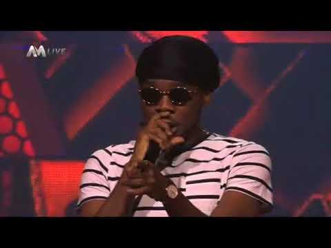 Brimaxx TV: Team Patoranking performing Love You Die on the Voice Nigeria 2017.