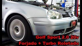 """Golf Sport 2.0 20v Turbo Parte 2/2 - Primeira volta do Dono + Bonus Lixando """"MVS Preparações"""""""
