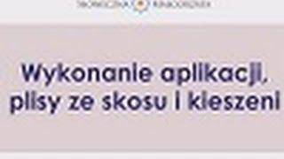 Słoneczna Małgorzata Z ESKK: Aplikacja, Pliska Ze Skosu, Kieszeń Naszywana