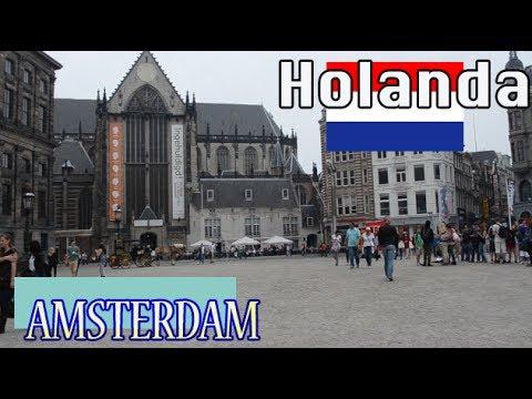 Zuecos, Molinos, Plaza Dam, Tulipanes, HOLANDA (AMSTERDAM)