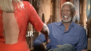 Ben Hur: Morgan Freeman talks women, forgiveness, working out