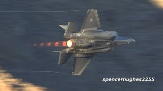 STAR WARS CANYON F-35s & T-33 Ace Maker!