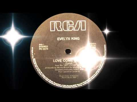 Evelyn Champagne King - Love Come Down (RCA Records 1982)