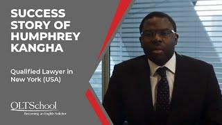 Success Story of Humphrey Kangha - QLTS School's Former Candidate
