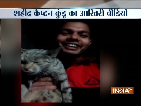 Watch Last Video Of Army Captain Kapil Kundu Martyred In Pak Firing Along LoC