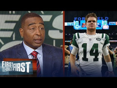 Cris Carter on Sam Darnold's NFL debut with the Jets, Struggling Lions | NFL | FIRST THINGS FIRST