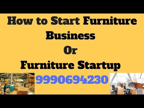 How to Start a Furniture Startup or Business in India (English/हिन्दी)