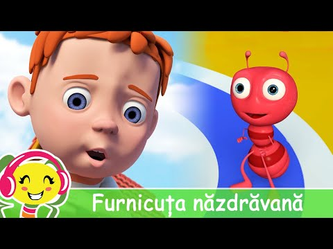 Furnicuta nazdravana  Melodii pentru copii | CanteceGradinita – Cantece pentru copii in limba romana