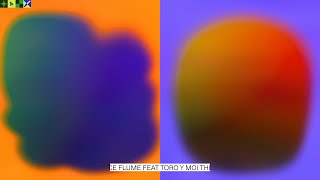 Cover images Flume feat. Toro y Moi - The Difference (Visualizer by FISK)