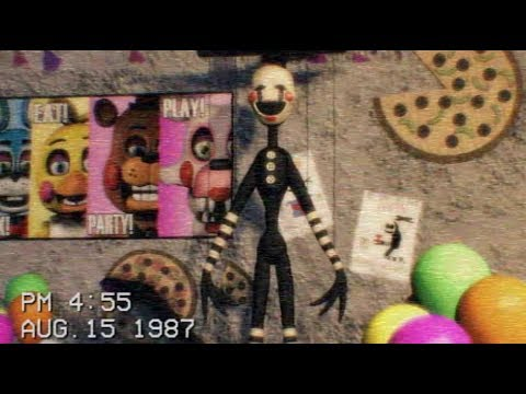 FNAF The Puppet footage tape 1987  Freddy Fazbears Pizzeria 2