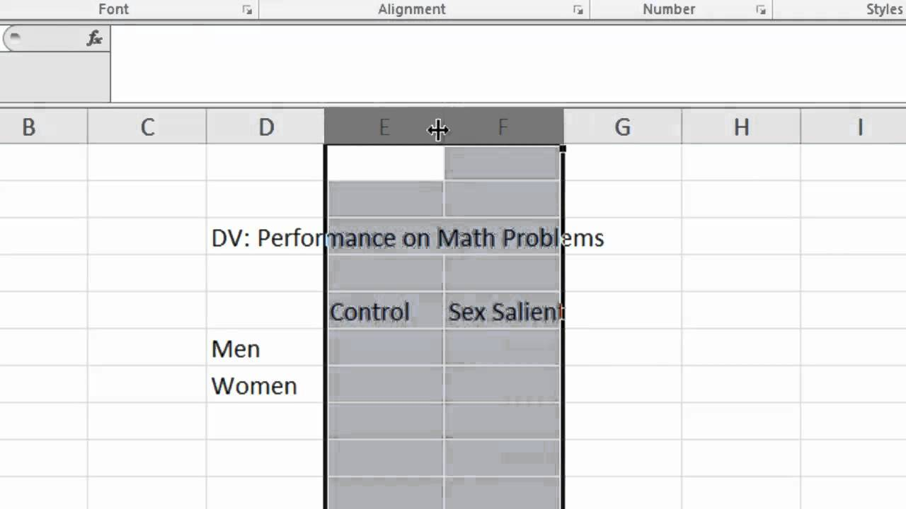 how to make a bar graph in excel mac 2011