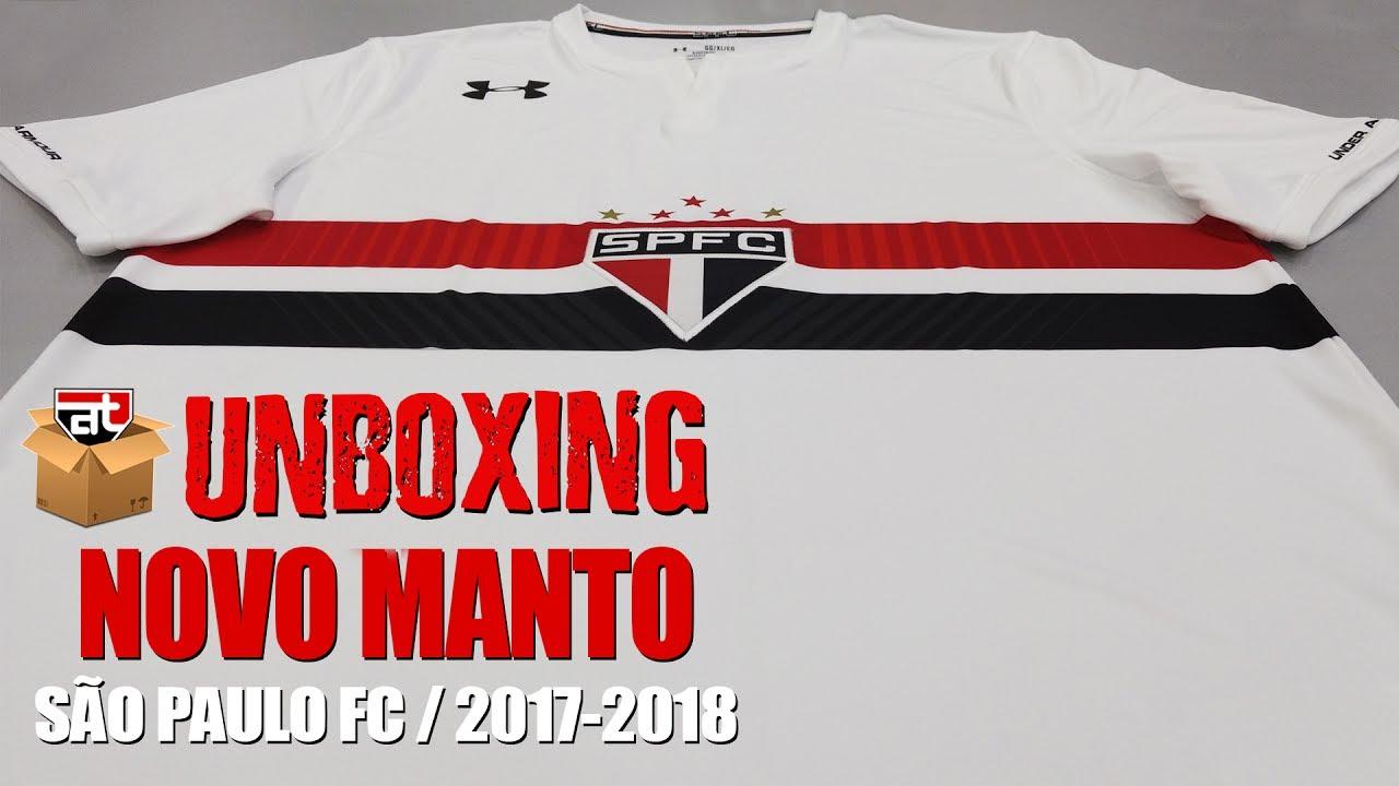 86e30343eb4 Unboxing - Nova Camisa São Paulo FC 2017-2018 - Under Armour - YouTube