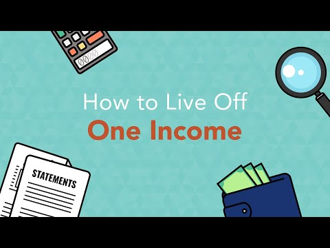 How to Manage and Balance Your Family Finances With a Single Income Stream