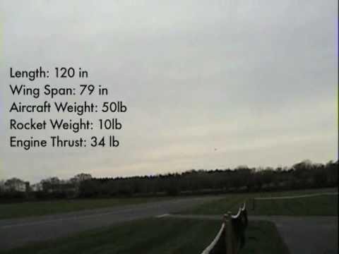 Illini Space Jet 2008 Test Flight (1/10 scale)
