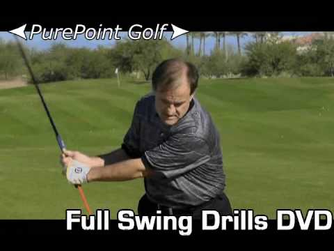 Practice Your Full Swing with a Purpose - PurePoint Golf Full Swing Drills DVD