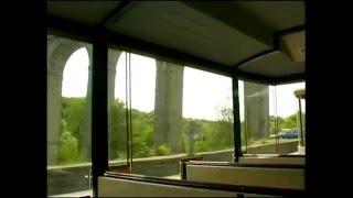 Dinan en Bretagne vu du petit train touristique VF