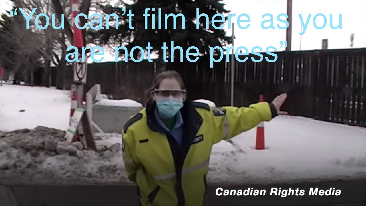 English Police Video Tweets – New audit video has been posted after visiting a COVID-19 Alberta Health Service…