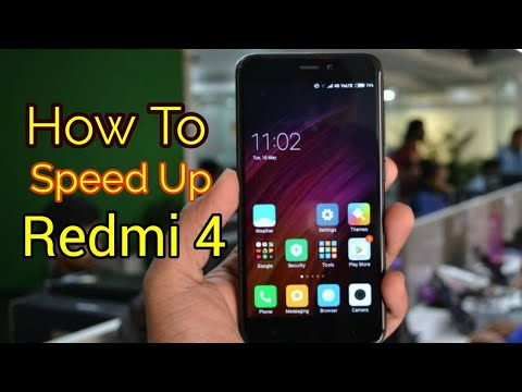 How To Speed Up Redmi 4 And Any Andriod Phone