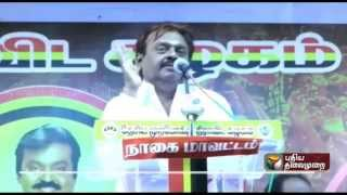 No election alliance with DMK and ADMK: Vijayakanth