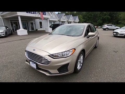 2019 Ford Fusion Niantic, New London, Old Saybrook, Norwich, Middletown, CT 19FU17