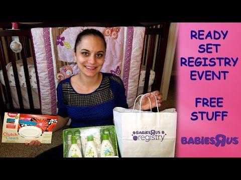*FREE STUFF* Babies R Us Registry Event