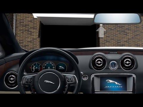 Jaguar Xj 2016 Garage Door Opener Homelink Youtube