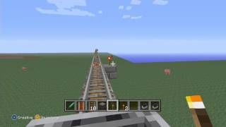 Minecraft Insanely Long Rollercoaster & Lava Glasshouse [HD]
