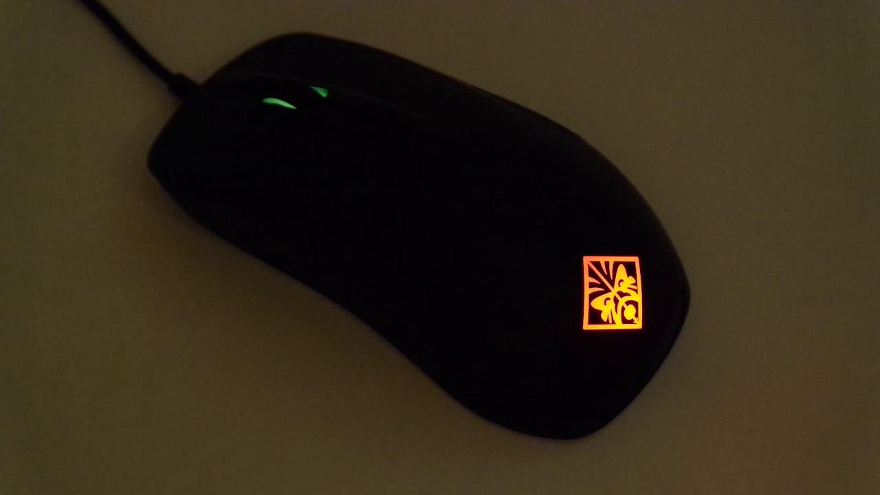 Hp Omen Mouse Light Demo Youtube