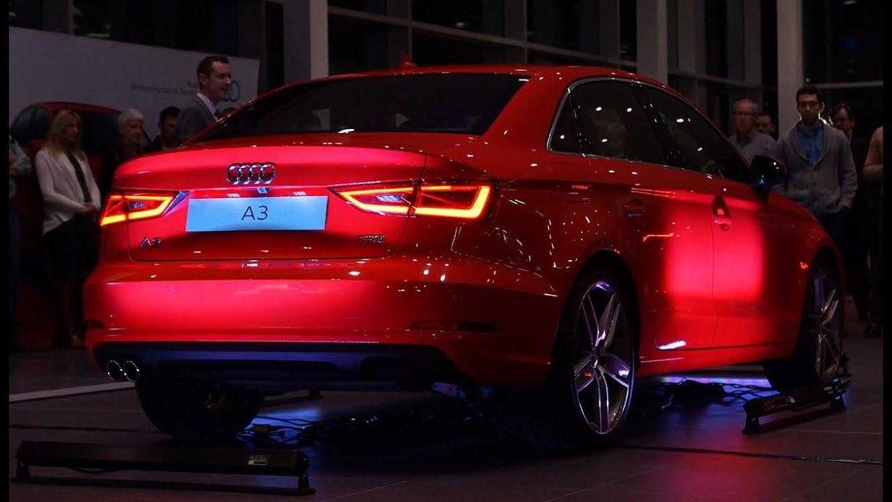 2015 audi a3 sport sedan canadian unveil launch video youtube. Black Bedroom Furniture Sets. Home Design Ideas
