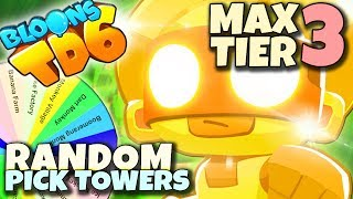 NOWOROCZNY MAX 3 TIER | Random Pick Tower | Bloons TD6 PL