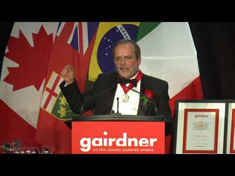 Cesar Victora- Gairdner Gala Acceptance Speech