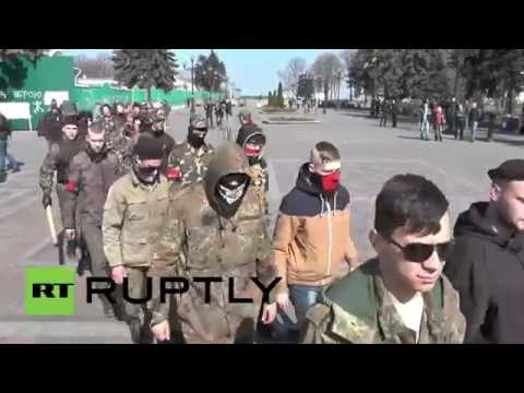 Ukraine: Right Sector rally continues in Kiev