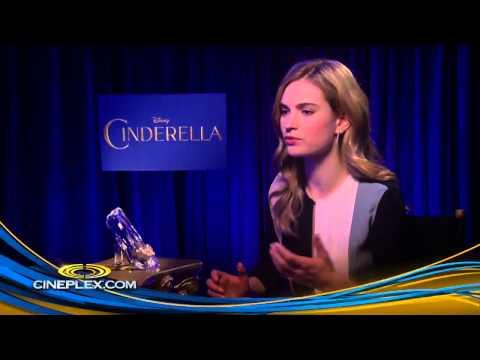 Cinderella's Lily James - Cineplex Interview
