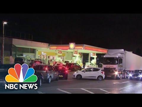 U.K. Drivers Facing Major Gas Shortage
