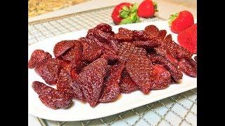 КЛУБНИЧНОЕ ЛАКОМСТВО - Лучше Любых Конфет! Цукаты из клубники. Dry Strawberry