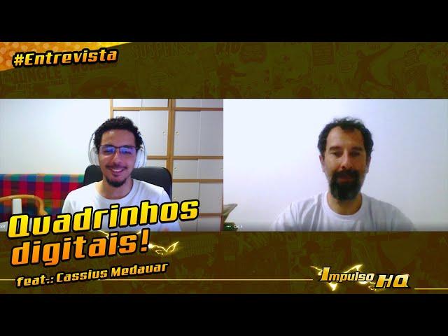 Quadrinhos impressos x Quadrinhos Digitais: você sabe a diferença? - feat.: Cassius Medauar