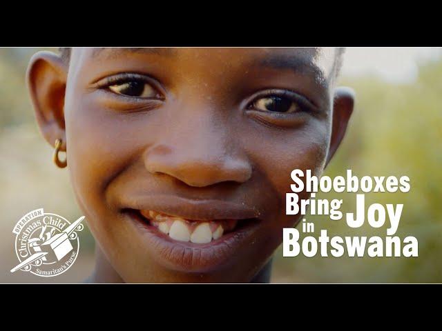 Shoeboxes Bring Joy in Botswana