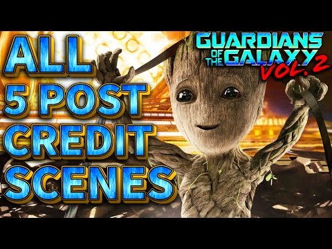 Guardians Of The Galaxy Vol 2 - All 5 Post Credit Scenes Explained
