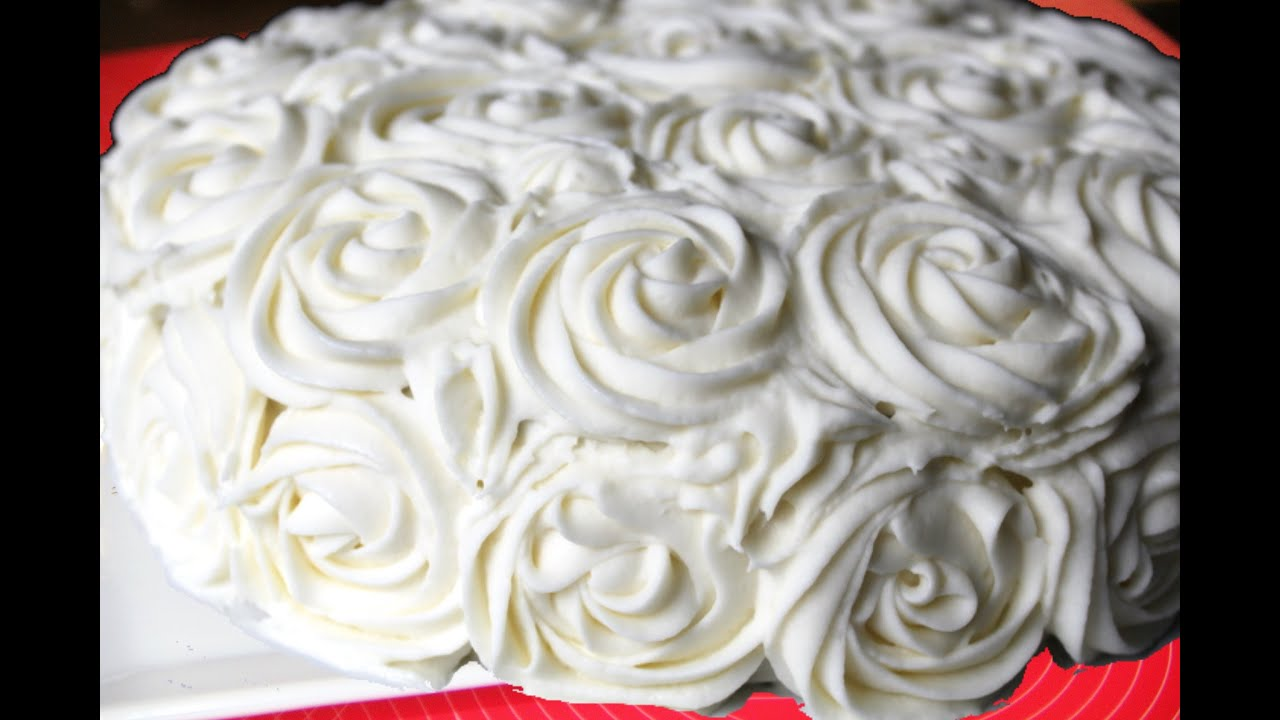 Cream Cheese or Mascarpone Based Frosting Video Recipe - YouTube