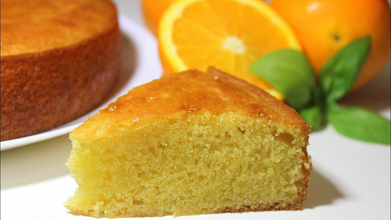 Eggless Orange Cake | No Egg - No Butter Moist Orange Cake | Malayalam ...