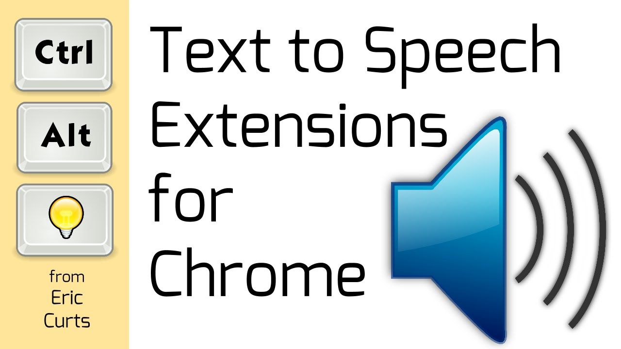 Text to Speech Extensions for Chrome  YouTube