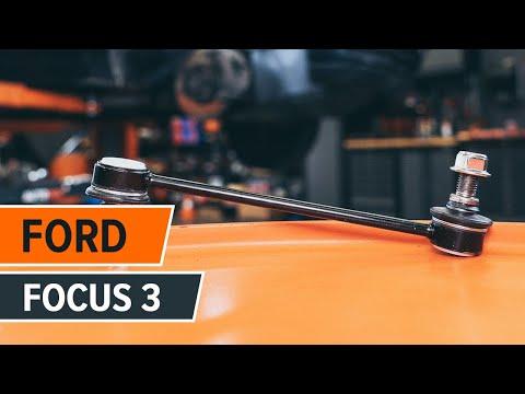 Как се сменят предна стойка на стабилизатор на FORD FOCUS 3 урок | Autodoc